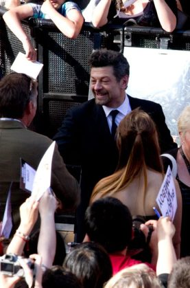 The Serkis was in town