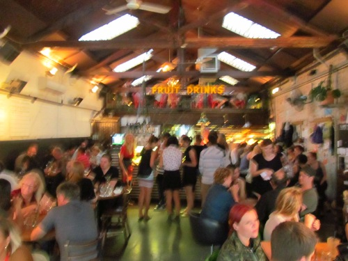 Fuzzy picture / Crowded Place