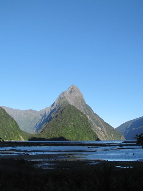 The oft-photoed Mitre Peak.