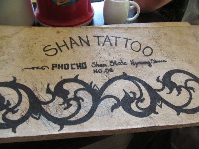 Getting A Tattoo In A Myanmar Cafe Are We There Yeti