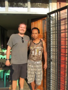 Pho Cho and me.