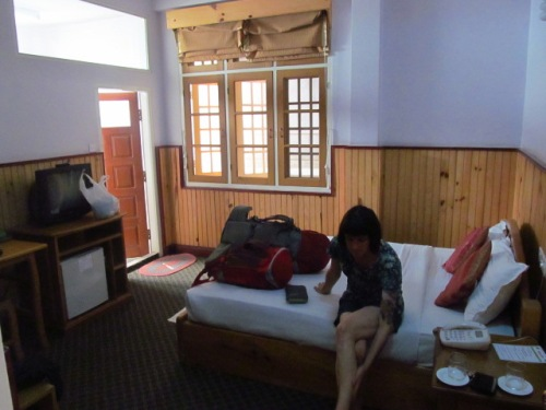 Our room at Honey Pine