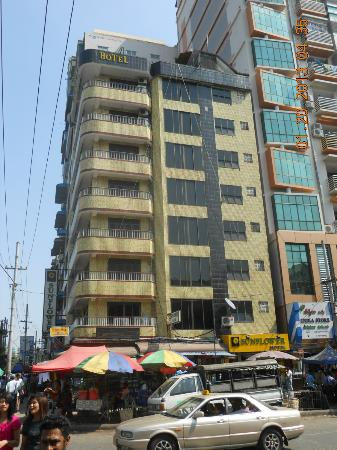 Sunflower Hotel, Yangon.
