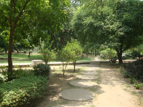 Rad walking path, Lodi Gardens