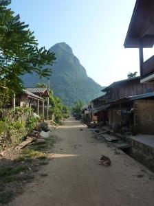 Downtown Muang Ngoi