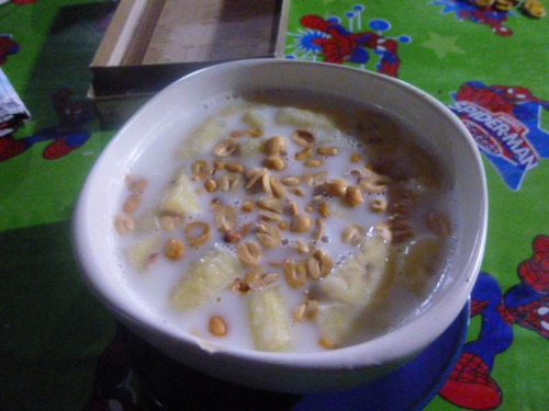 Coconut milk Banana Porridge
