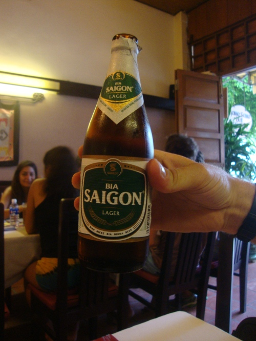 Bia Saigon - A little grapey.