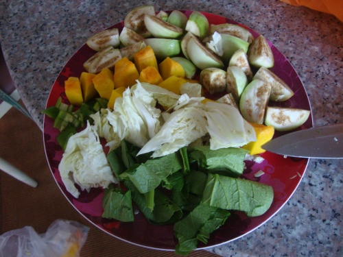 Plate of Veggies - about 50 cents