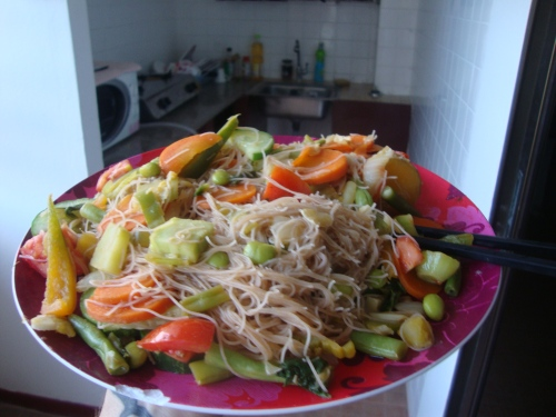 Homemade Stirfry - 80 cents