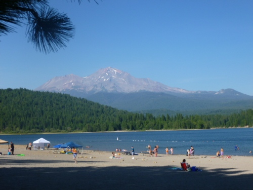 Camping at Mt. Shasta
