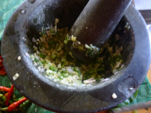 Making the Green Paste