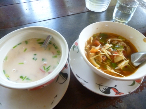 Coconut and Tom Yum Soup