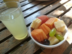 Fruit portion