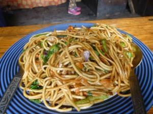 Chow mein!!!
