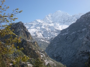 Epic mountain view