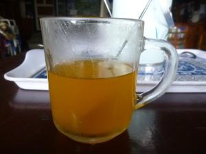Warm Seabuckthorn juice aka Nectar of the Gods