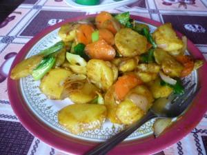 Veg Fried Potatoes