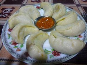 Curry Veg Momos