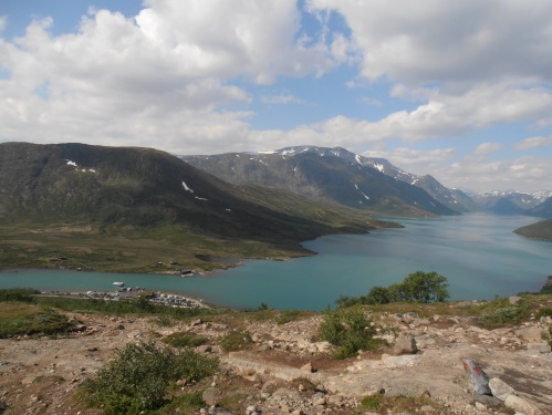 A view to a fjord