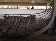 Viking ship remnants