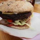 Astrid och Apurna - Veggie burger