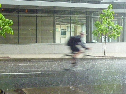 Portland in the Rain