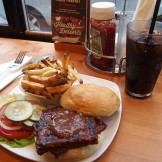 Dicks BBQ Tempeh Burger
