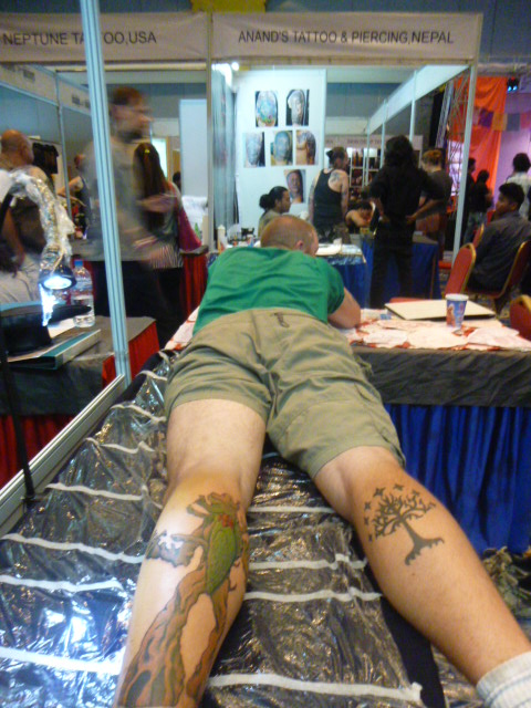 Kathmandu Tattoo Convention