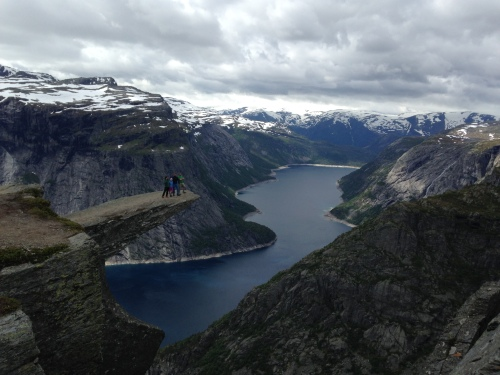 The almighty Trolltunga