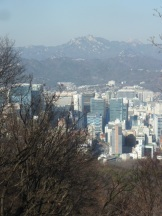 Seoul from Namsan